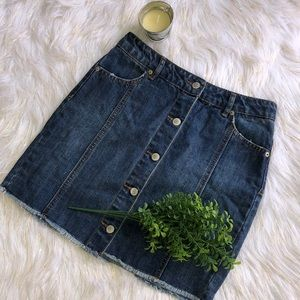 Jean Skirt by Highway